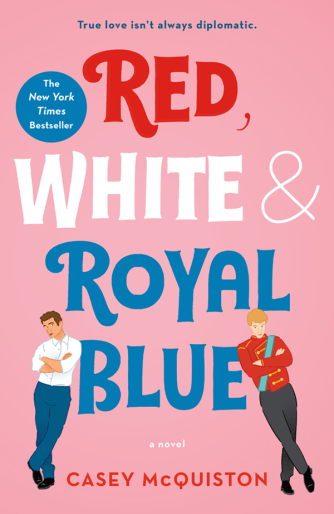 red-white-and-royal-blue-book